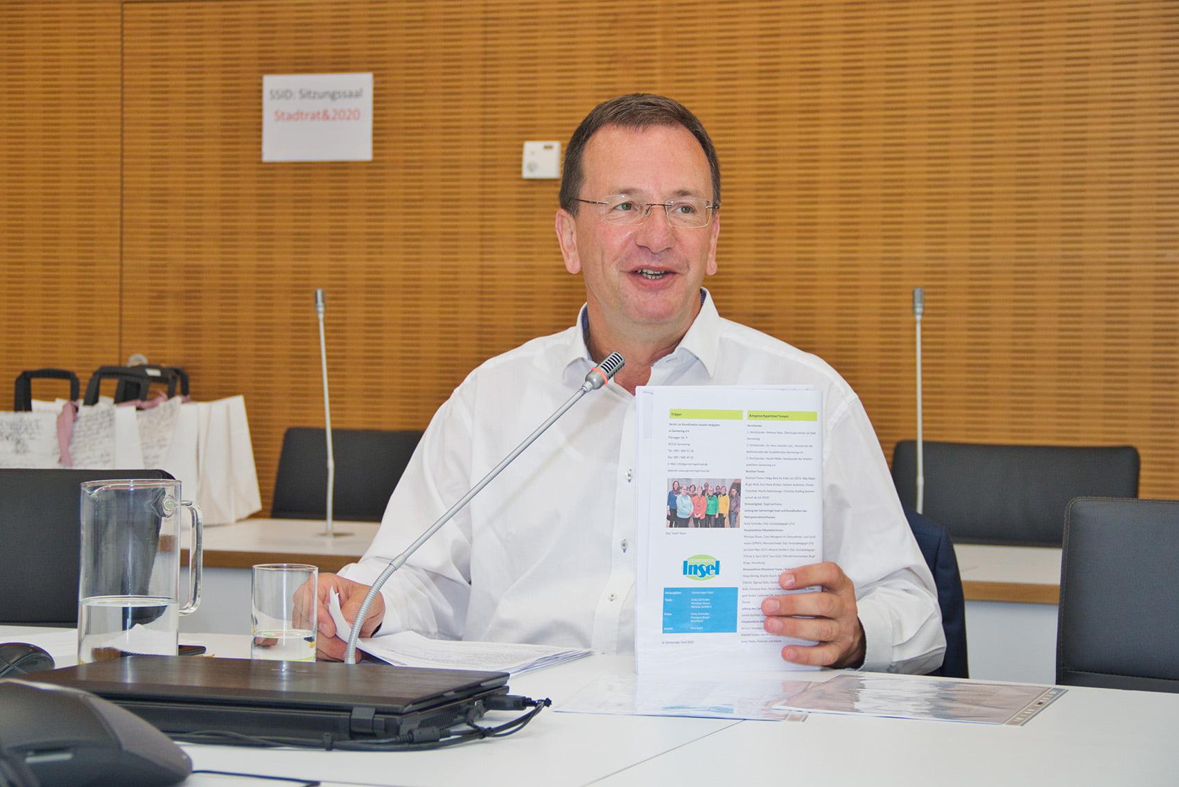 Oberbürgermeister Andreas Haas